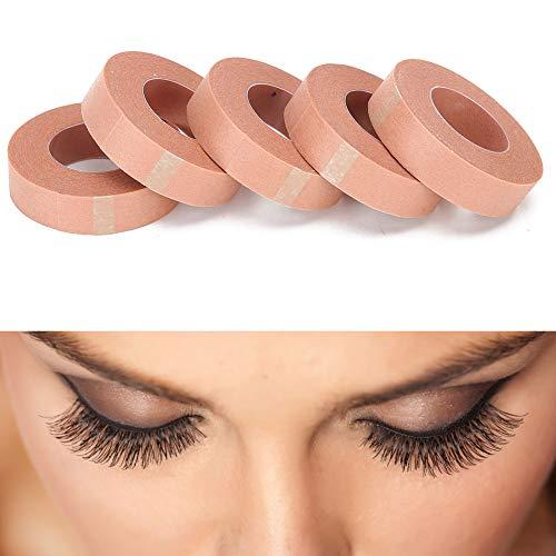 5pcs bande d'extension de cils non-tissé tissu respirant greffage bande de cils outils d'extension de cils 2 tailles(1.25cm)
