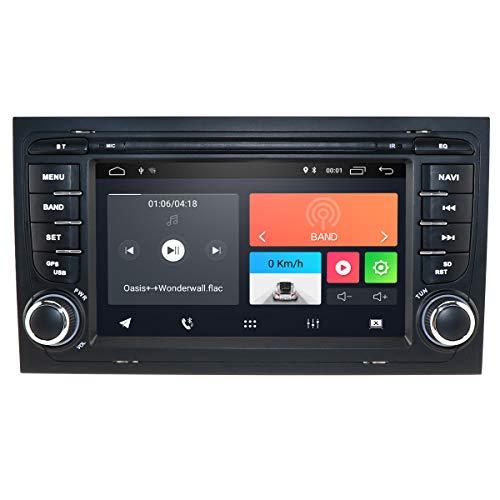 Android 10 OS 7 pulgadas Radio de coche GPS Navegación Reproductor de DVD Adecuado para Audi Radio de coche Adecuado para Audi A4 B6 B7 (8E / 8H) S4 B7 B6 (8E / 8H) RS4 B7 (8E) Asiento Exeo Compatible