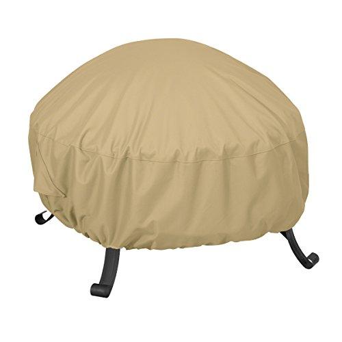 Classic Accessories 59902-ec Terrazzo une couverture complète pour foyer ronde 76.20 cm sable