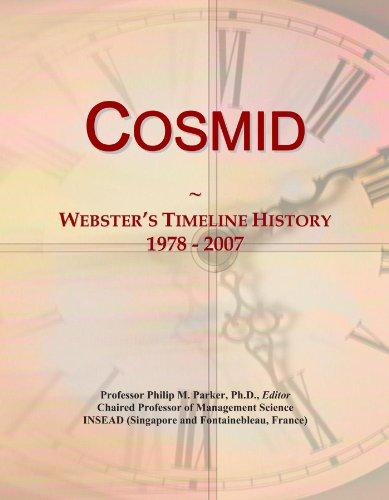 Cosmid: Webster's Timeline History, 1978 - 2007
