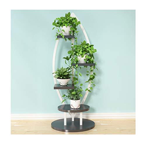 LYM & Pottenrek Staande bloem meerlagige planken staan creatieve woonkamer bonsai display rek opslagrek houdt decoratieve bloempotten