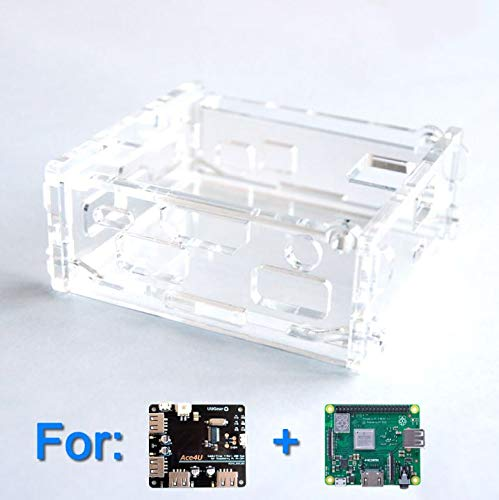 ACE4U アクリル ケース クリア - Acrylic Case for ACE4U and Raspberry Pi A+/3A+ (Clear)