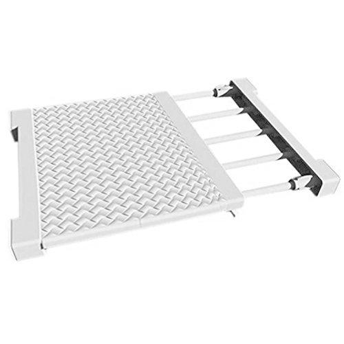 Dasuke Extensible y Ajustable Separador de plástico Armario Rack de Almacenamiento de Estante de Almacenamiento Armario Armario estantería baño almacenes