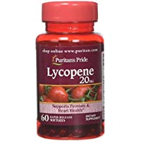 60-Count Puritans Pride Lycopene 20 Mg Softgels