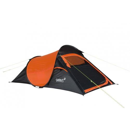 Gelert Wurfzelt Quickpitch Compact 2 red orange/Charcoal