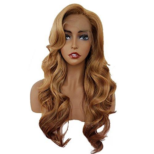 Beauty-Wig Echthaar-Perücke, 360 Spitze Vorne, Mit Babyhaar Und 100% Unbehandeltem, Brasilianischem Echthaar, Gewellt, Für Damen