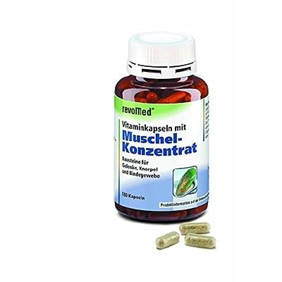Vitaminkapseln mit Muschel-Konzentrat stärken Gelenke, Knorpel und Bindegewebe