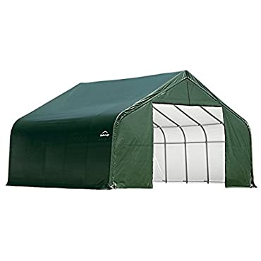 ShelterLogic 72854 Green 10'x8'x10' Peak Style Shelter