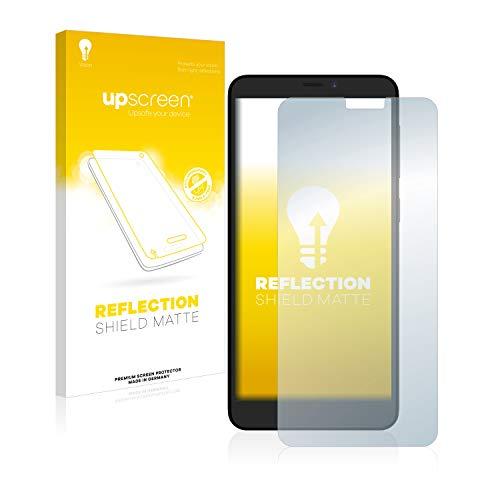 upscreen Entspiegelungs-Schutzfolie kompatibel mit ZTE Blade A530 – Anti-Reflex Bildschirmschutz-Folie Matt