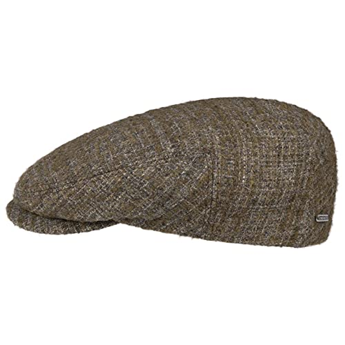 Stetson Gorra Rencaro Wool Hombre - Made in The EU de Lana Gorro Ivy con Visera, Forro otoño/Invierno
