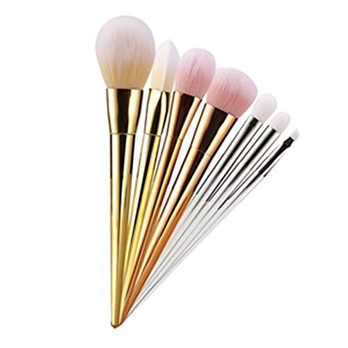 Brosse de maquillage Set Beauté Maquillage 7 Pcs Maquillage Pinceau Ensemble De Fondation Poudre Lâche Blush Fard Du Poudre Du Visage Nasal Shadow Pinceaux Cosmétiques Set Brosses