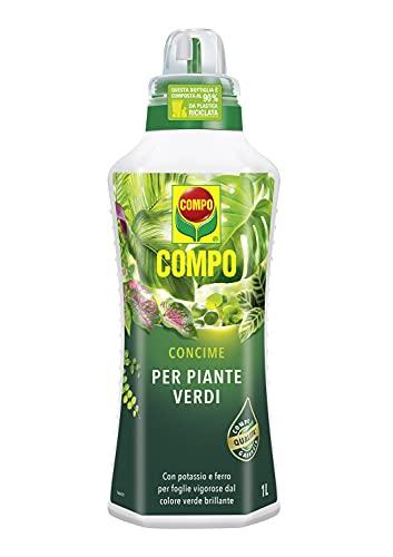 COMPO Concime liquido per Piante Verdi, Per piante d appartamento e da balcone, 1 l