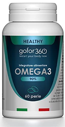 Omega3   1530 mg EPA 720 mg DHA, 90 % de concentración certificada   gofor360
