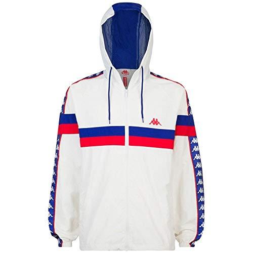 Kappa Bellagio Authentic 222 Banda Jacket Small White