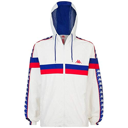 Kappa Bellagio Authentic 222 Banda Jacket Small White
