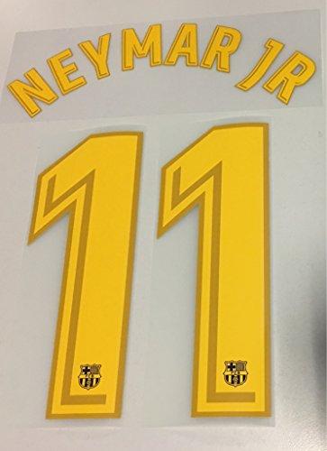 Flock Original FC Barcelona Trikot 25cm - Neymar JR 11