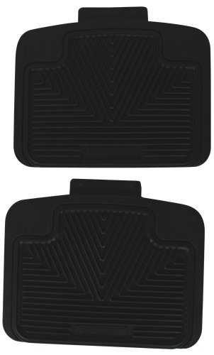 Highland 4603100 All-Weather Black Back Seat Floor Mat