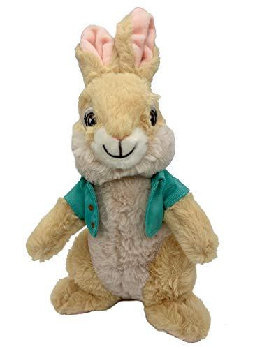 Peter Rabbit Peluche Peter Coniglio e Amici 22 cm + Coniglietto di peluche originale DVD 2021 Coniglietto pasquale regalo per bambini, Pasqua, decorazione pasquale, Easter (Cottontail)