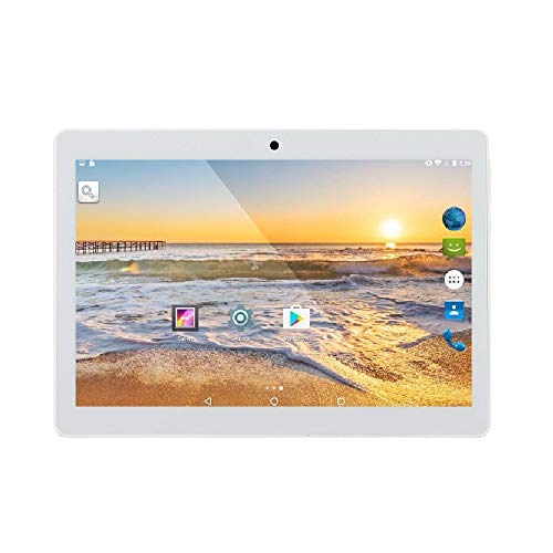 tablet con sim telefonica ibowin® 10.1 Pollici 1280x800 IPS Tablet PC 1G RAM 16G ROM Android 7.0OS Quad core AGPS WIFI 3G Cellulare 2SIM Card - Argento