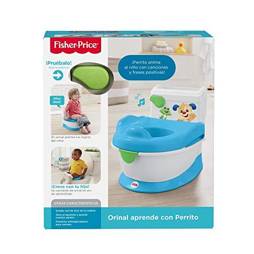 Mattel FRG80 orinal beb/é 1 a/ño Fisher-Price Orinal aprende con Perrito