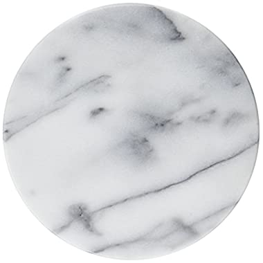Evco International Creative Home 74077R Marble Trivet, White