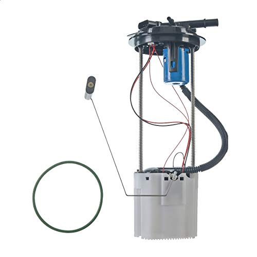 A-Premium Electric Fuel Pump Module Assembly with Pressure Sensor Compatible with Chevrolet Silverado 1500 GMC Sierra 1500 2007-2008 V6 4.3L Petrol