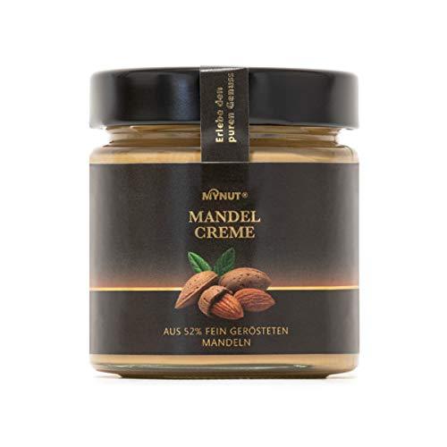 MYNUT Mandel Creme | 52% Mandel | Ohne Palmöl | Brotaufstrich | Nusscreme 200g