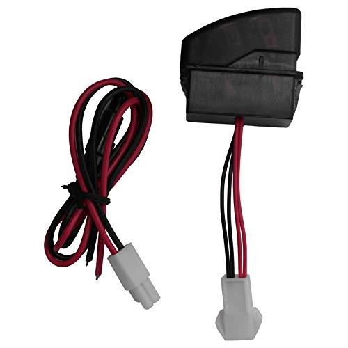 Gaetooely DC24V Dual USB Cargador de Coche Toma de Corriente para TeléFono Inteligente Uso para DAF 95 XF 106 105 95 CF