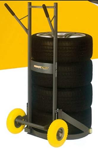 Reifenkarre Reifentransportkarre Reifen Transportwagen 200Kg Winntec