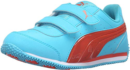 PUMA Unisex-Child Speed Light up V PS Sneaker