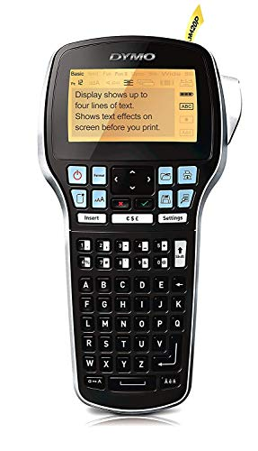 Dymo S0915490 Label Manager 420P Handheld Label Maker ABC Keyboard, Black
