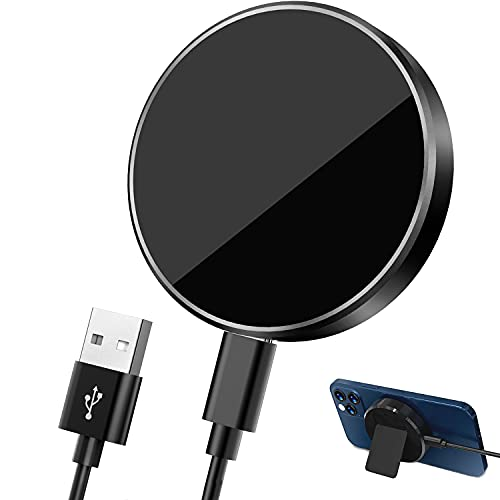 Hoidokly Cargador Magnético rápido con Soporte Desmontable para iPhone 12/12 Pro/12 Pro Max/12 Mini