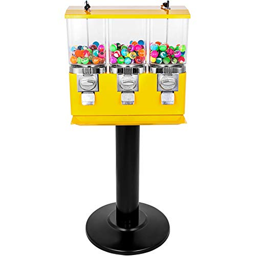 Fantastic Prices! Kanizz Restaurant Bar Circus Amusement Park Gumball 3 Head Candy Vending Machines ...