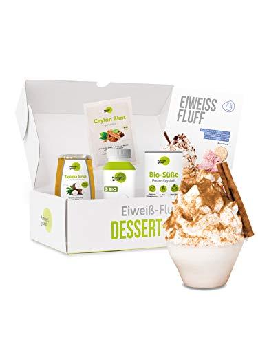 Pumperlgsund Dessert Fluff Starter-Box (Zimt, für ca. 6 Fluffs)