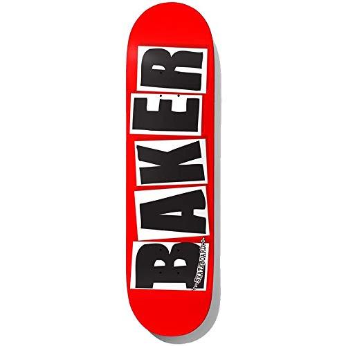 Baker Skateboard-Brett / Deck, Logo der Marke, Schwarz