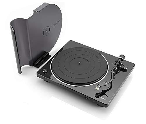 Denon DP-450USB Semi-Automatic Analog Turntable | USB Output for Recording