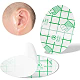 Baby Waterproof Ear Stickers, Baby Waterproof Ear Protector, Newborn Ear Protection for Swimming Showering Surfing Snorkeling and Other Water Sports Kids Size(30 Pack)