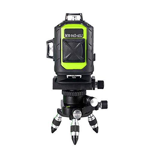Nivel Láser Autonivelante,16 Line 4D Laser Level Control remoto autonivelante horizontal...