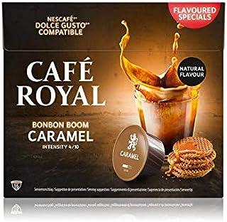 Café Royal Caramel Capsules Compatibles avec Nescafé Dolce Gusto Intensité 4/10 Certifié UTZ Flavoured Special 96 g