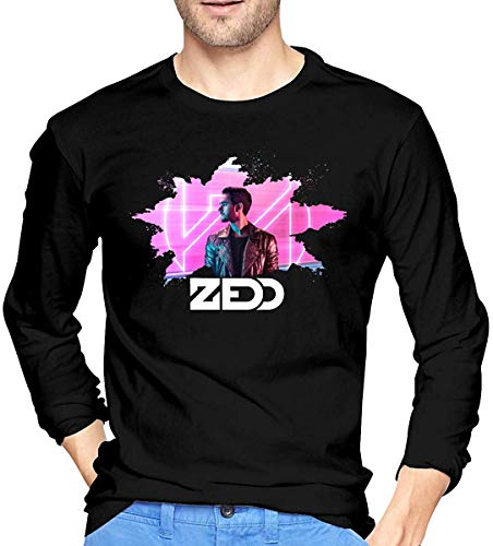 Ovilsm Hemden Langarmshirts Zedd Sports Man Tops Long Sleeve Tees Black
