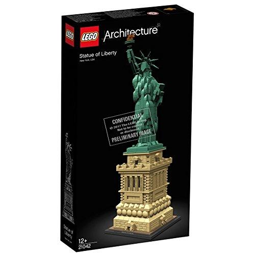 Unbekannt Lego® Architecture Freiheitsstatue, 1685 Teile