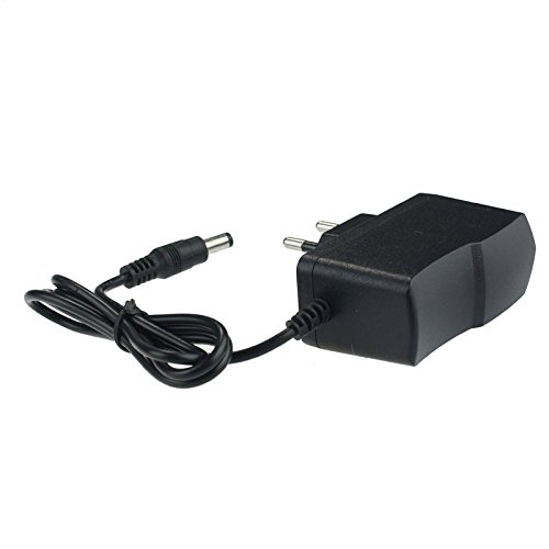 Tensay Adaptador de potencia de pedal utiliza la fuente de alimentación de conmutación 9V EU 1A Adaptador de fuente Convertidor para pedales de efectos de guitarra