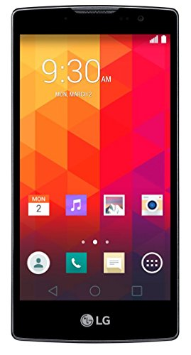 LG Spirit Smartphone (11,94 cm (4,7 Zoll) HD-IPS-Display, 1,3 GHz-Quad-Core-Prozessor, 5 Megapixel-Kamera, 8 GB interner Speicher, Android 5.0) titan