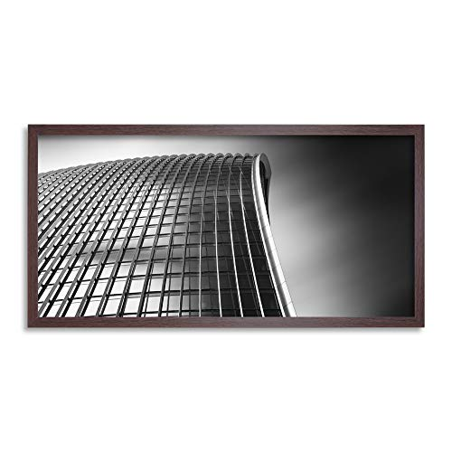 Warby Abstract Angle Walkie Talkie Building London Photo Framed Wall Art Print Long 25X12 Inch Guerra Resumen Londres Fotografía Pared