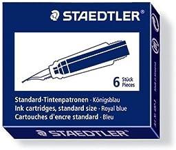 STAEDTLER Ink Cartridge, Standard, Royal Blue, 480-3