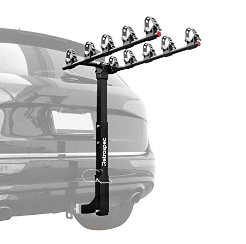 Retrospec Lenox Car 5 Bicycle Carrier Hitch Mount Bike Rack (3014)