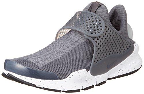 Nike Herren Sock Dart Sneakers, Grau (Wolf Grey/Wolf Grey-White-Pink Blast), 46 EU