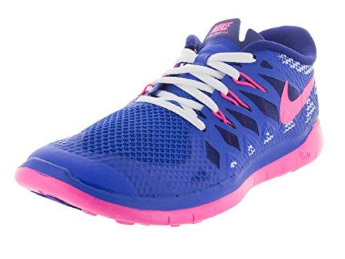 Nike Free 5.0 Mädchen pink/blau, Schuhgröße:36 EU - 4 y US