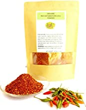 SaveALL red hot Thai bird's eye chili powder very hot good taste resealable bag 4 oz.