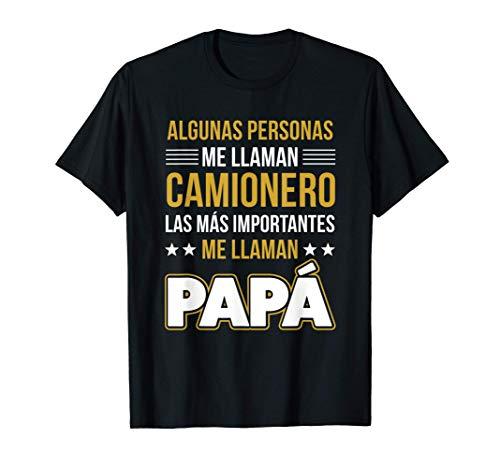 Hombre Papá Camionero Regalo Divertido Camiseta